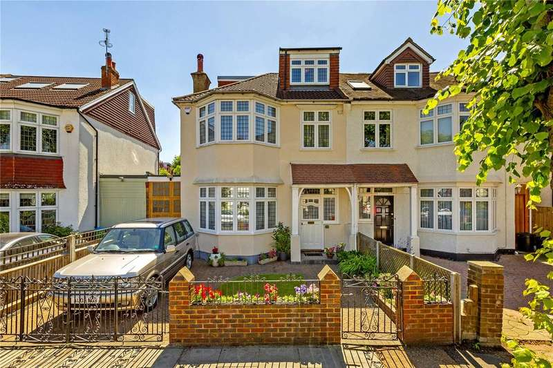 5 Bedrooms Semi Detached House for sale in Richmond Park Road, East Sheen, London, SW14