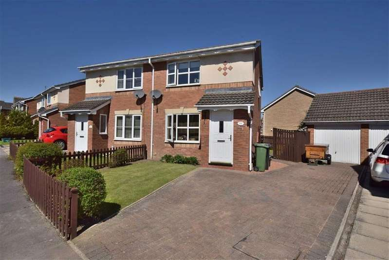 2 Bedrooms Semi Detached House for sale in Cookson Way, Brough With St Giles, North Yorkshire