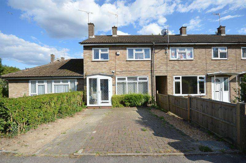 3 Bedrooms Terraced House for sale in Dellmont Road, Dunstable