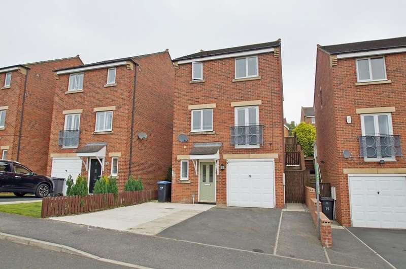4 Bedrooms Detached House for sale in Welby Drive, Ushaw Moor