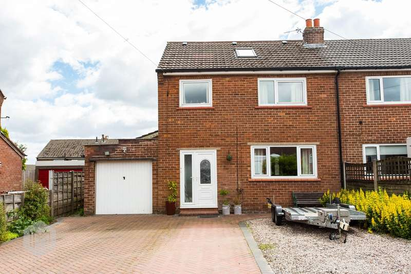 4 Bedrooms Semi Detached House for sale in Shepherds Close, Blackrod, Bolton, BL6