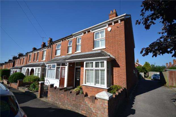 4 Bedrooms End Of Terrace House for sale in Alexandra Road, Basingstoke, Hampshire