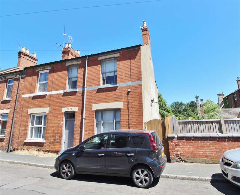 3 Bedrooms End Of Terrace House for sale in Sidney Street, Grantham