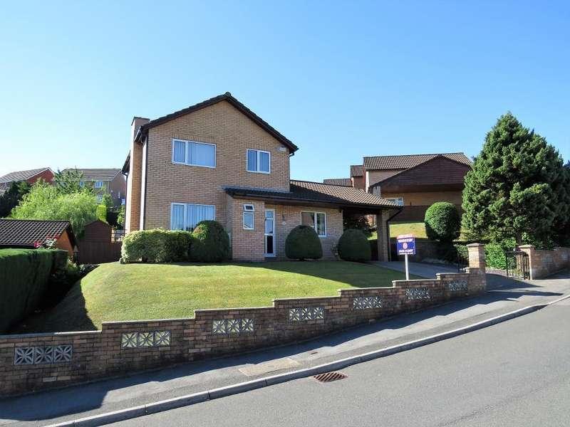 4 Bedrooms Detached House for sale in Heol Y Glyn, Millbrook, Treharris, CF46 5RX