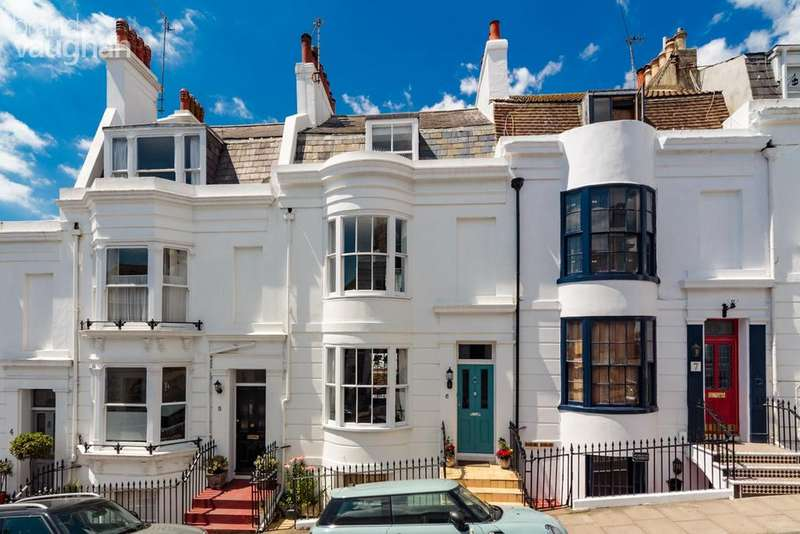 5 Bedrooms Terraced House for sale in Montpelier Street, Clifton, Brighton, BN1