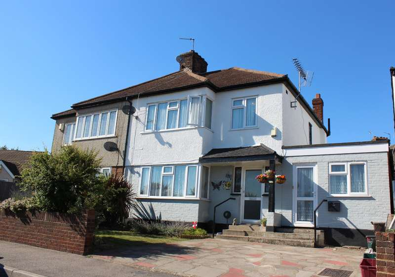 4 Bedrooms Semi Detached House for sale in Bedonwell Road , Upper Abbey Wood, London, SE2 0SE