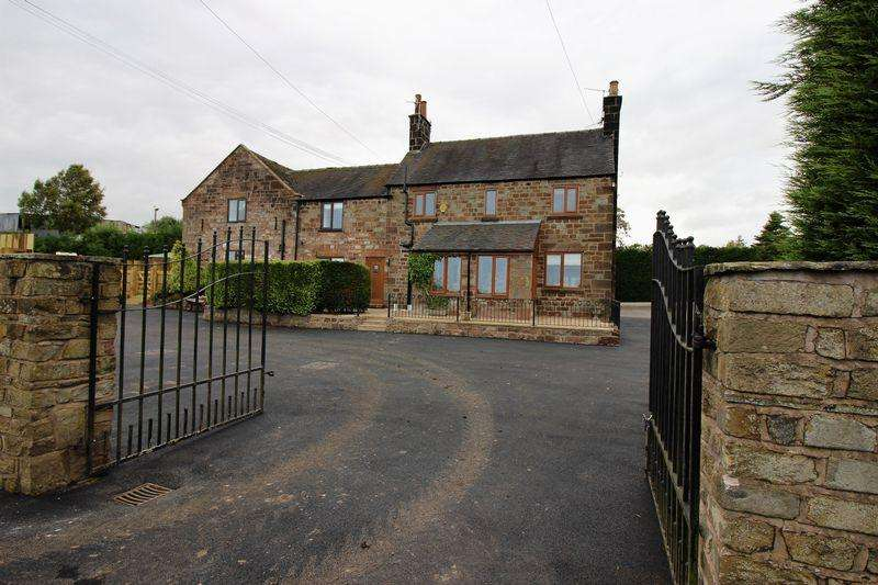 5 Bedrooms Detached House for sale in Ostlers Lane, Cheddleton, Near Leek, Staffordshire, ST13 7DQ