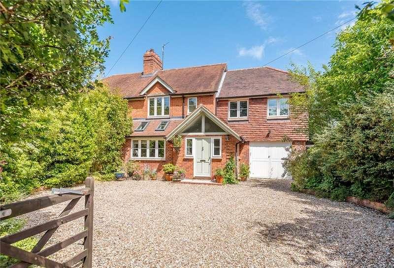 4 Bedrooms Semi Detached House for sale in The Village, Hamstead Marshall, Newbury, Berkshire, RG20
