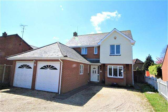 4 Bedrooms Detached House for sale in Blackheath Road, Colchester