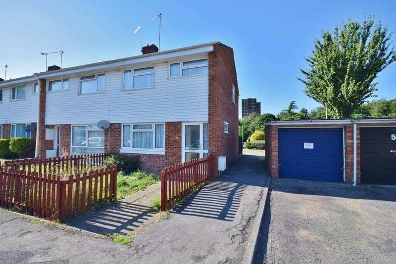 3 Bedrooms End Of Terrace House for sale in Eastrop, Basingstoke, RG21