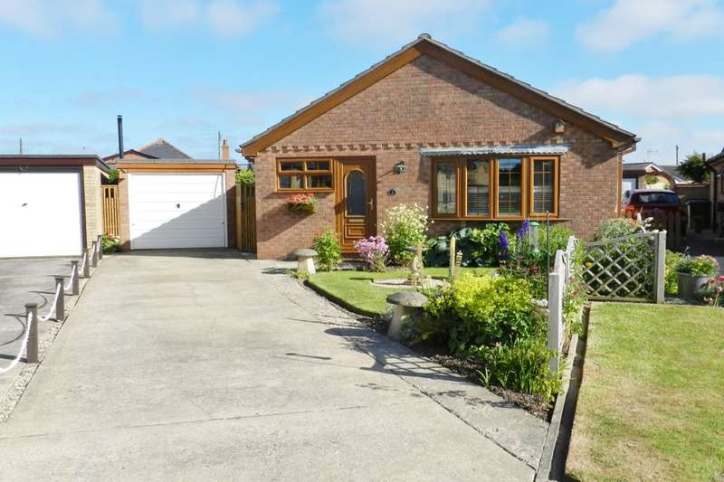 2 Bedrooms Detached Bungalow for sale in Chanctonbury Close, Sutton-On-Sea, Mablethorpe, LN12
