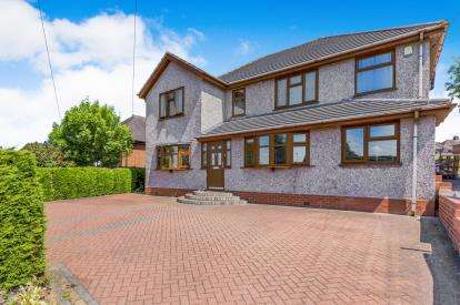 5 Bedrooms Detached House for sale in Lightwood Road, Lightwood, Stoke On Trent, Staffs