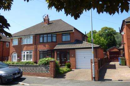3 Bedrooms Semi Detached House for sale in Ashbourne Road, Great Sankey, Warrington, Cheshire