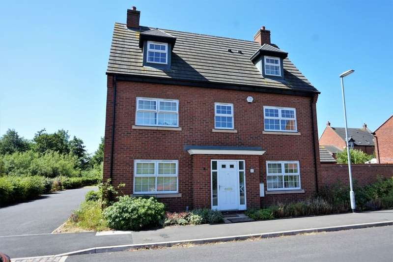 5 Bedrooms Detached House for sale in Pearl Brook Avenue, Stafford, ST16