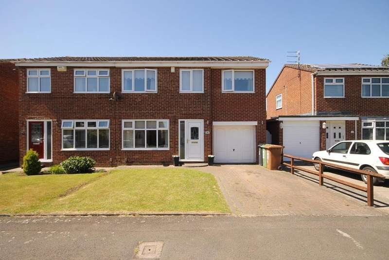3 Bedrooms Semi Detached House for sale in Spilsby Close, Fens, Hartlepool