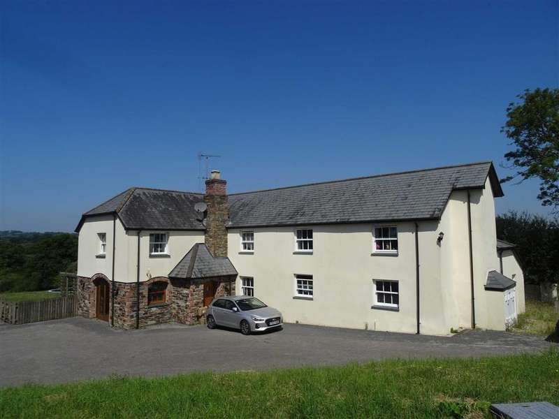 5 Bedrooms Detached House for sale in Runnon Moor Lane, Hatherleigh, Okehampton, Devon, EX20