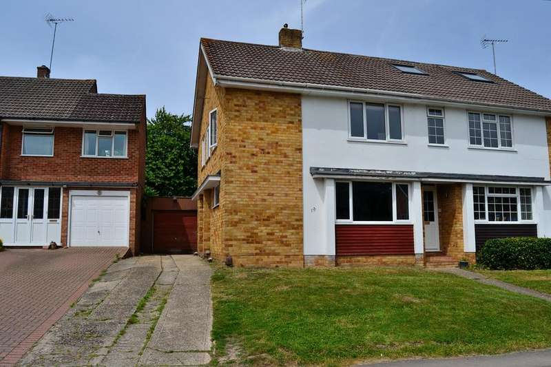 3 Bedrooms Semi Detached House for sale in Lakeside, Earley, Reading, Berkshire, RG6 7PG