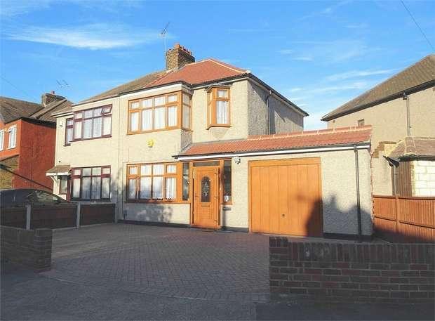 3 Bedrooms Semi Detached House for sale in Jersey Road, Rainham, Essex