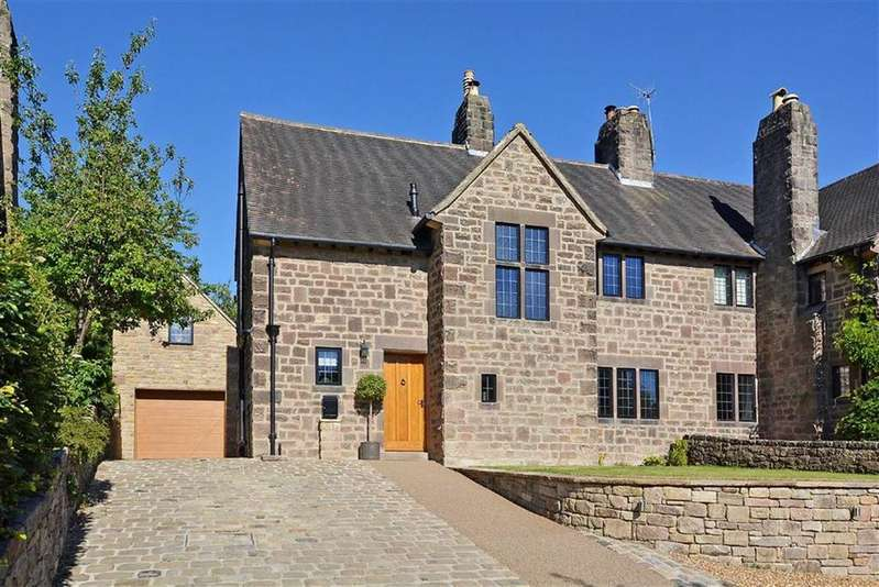 4 Bedrooms Semi Detached House for sale in One Gable, Calver Road, Baslow, Bakewell, Derbyshire, DE45