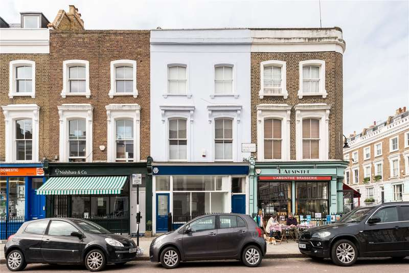 3 Bedrooms Flat for sale in Chalcot Road, Primrose Hill, London, NW1
