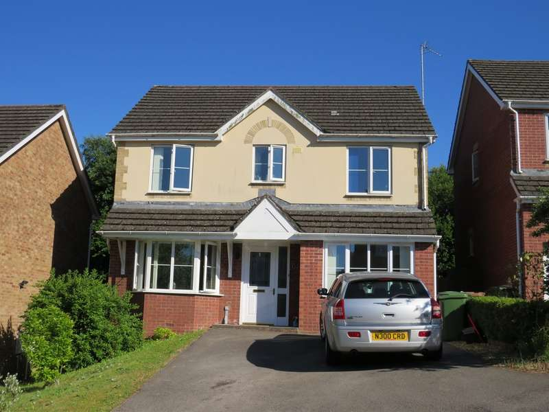 4 Bedrooms Detached House for sale in Cinnabar Drive, Pontllanfraith, Blackwood