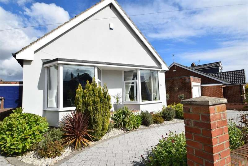 4 Bedrooms Detached Bungalow for sale in Rothley Way, Whitley Bay