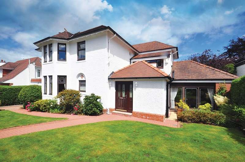 4 Bedrooms Detached House for sale in Treemain Road, Lower Whitecraigs , Glasgow, G46