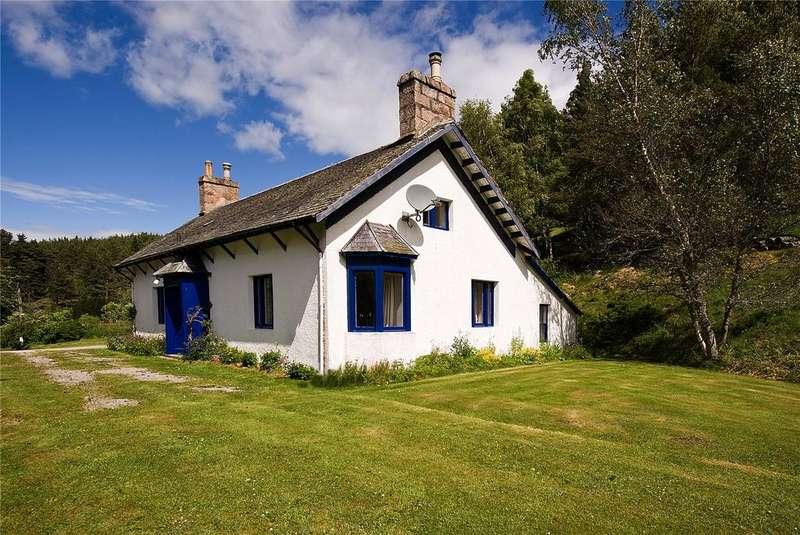 4 Bedrooms Detached House for sale in Deskryshiel Lodge, Strathdon, Aberdeenshire