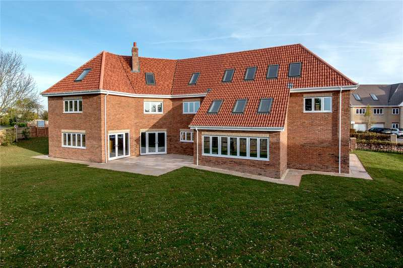 5 Bedrooms Detached House for sale in Sherlands Heights, Stonegallows, Taunton, Somerset, TA1