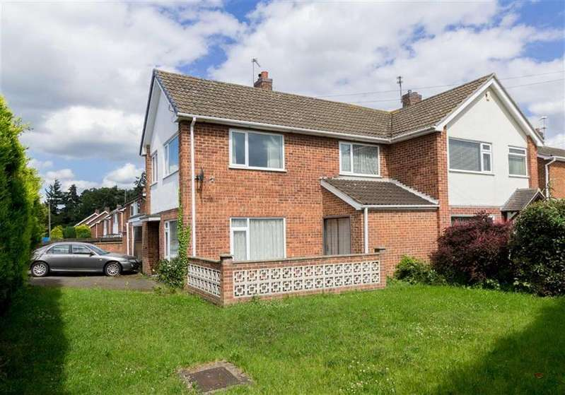 3 Bedrooms Semi Detached House for sale in Mardale Way, Loughborough, LE11