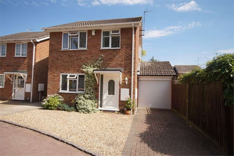 3 Bedrooms Detached House for sale in Felixstowe Close, Lower Earley, READING, Berkshire