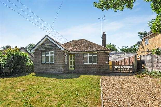 2 Bedrooms Detached Bungalow for sale in Bottom Road, Radnage, Buckinghamshire. HP14 4EQ