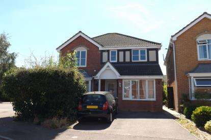 4 Bedrooms Detached House for sale in Brambling Close, Sandy, Bedfordshire