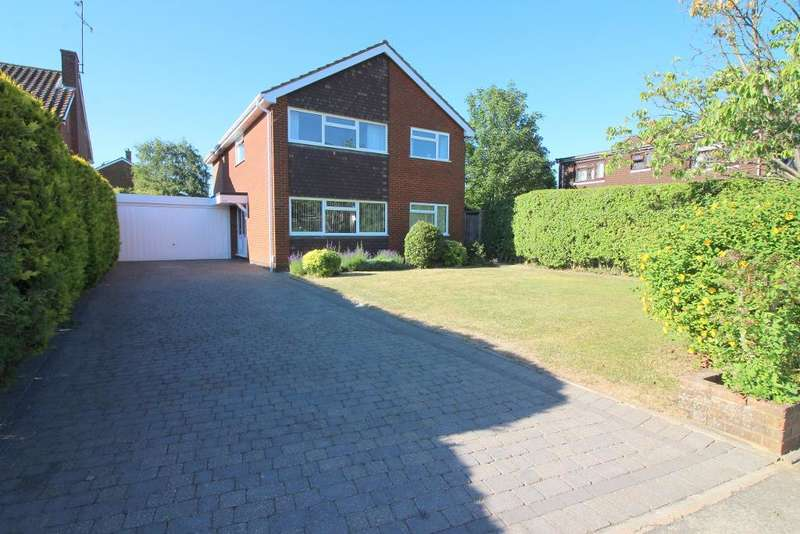 4 Bedrooms Detached House for sale in Old Bedford Road, Luton, Bedfordshire, LU2 7BN