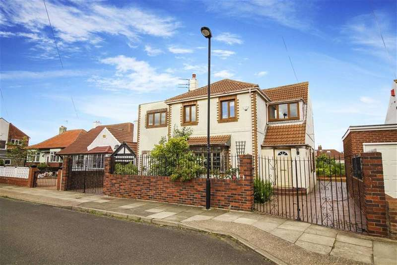 4 Bedrooms Detached House for sale in Grange Park, Whitley Bay, Tyne And Wear