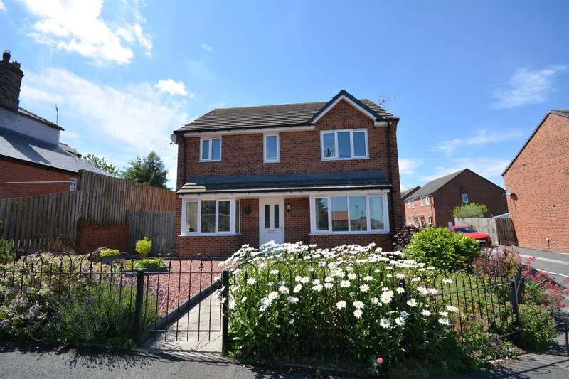 4 Bedrooms Detached House for sale in Chapel Street, Evenwood, Bishop Auckland, DL14 9QY