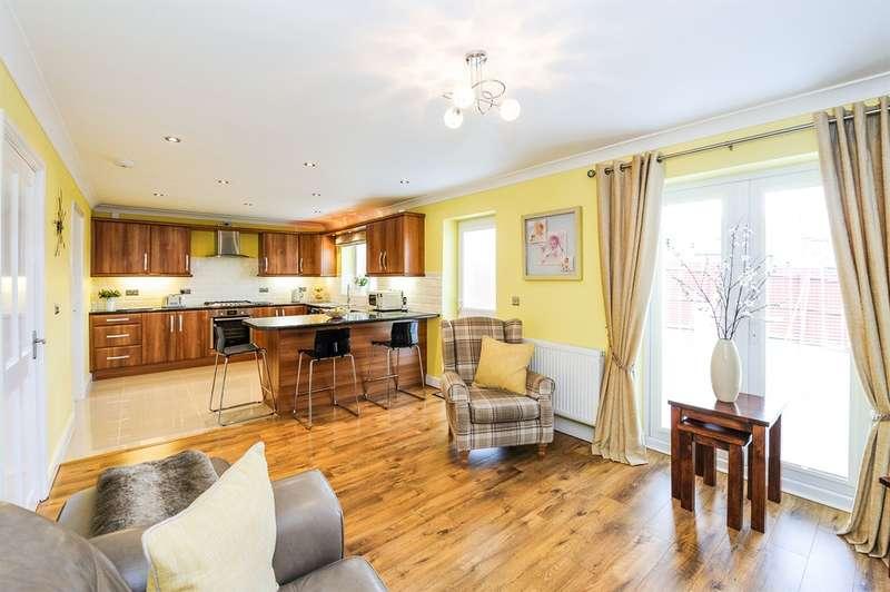 4 Bedrooms Detached House for sale in Parklands Rise, Tonyrefail, Porth