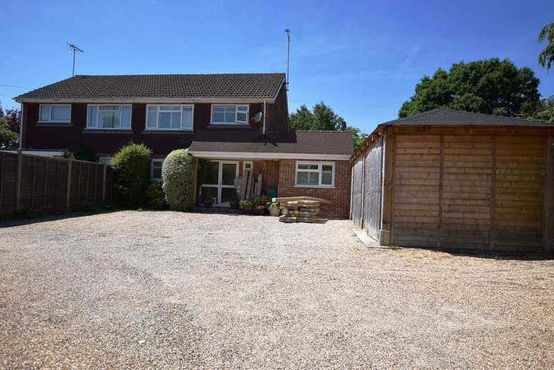 4 Bedrooms Semi Detached House for sale in Firacre Road, Ash Vale, GU12