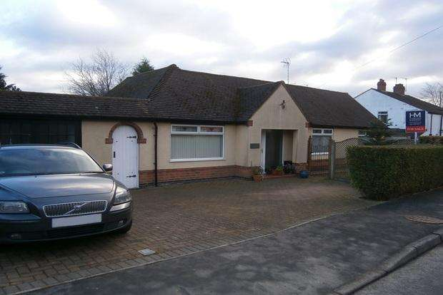 2 Bedrooms Detached Bungalow for sale in Lena Drive, Groby, Leicester, LE6