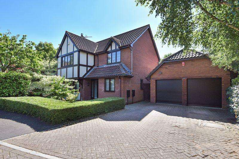 4 Bedrooms Detached House for sale in Shaplands, Bristol