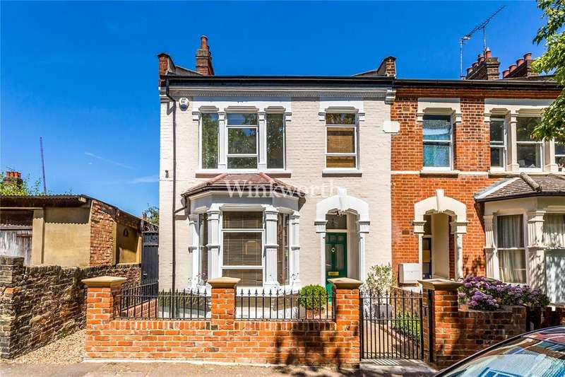 3 Bedrooms End Of Terrace House for sale in Falkland Road, Harringay Ladder, N8