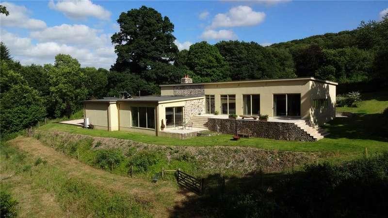 4 Bedrooms Detached House for sale in Ashreigney, Chulmleigh, Devon, EX18