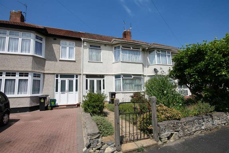 3 Bedrooms Terraced House for sale in Stoneleigh Walk, Knowle, Bristol, BS4 2RL