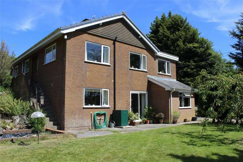 4 Bedrooms Detached House for sale in Bryn Heulwen, Bettws Cedewain, Newtown, Powys, SY16