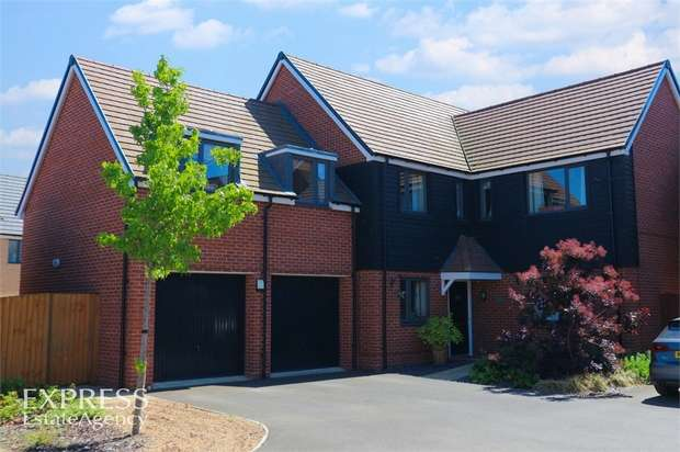 5 Bedrooms Detached House for sale in Parker Road, Wootton, Bedford