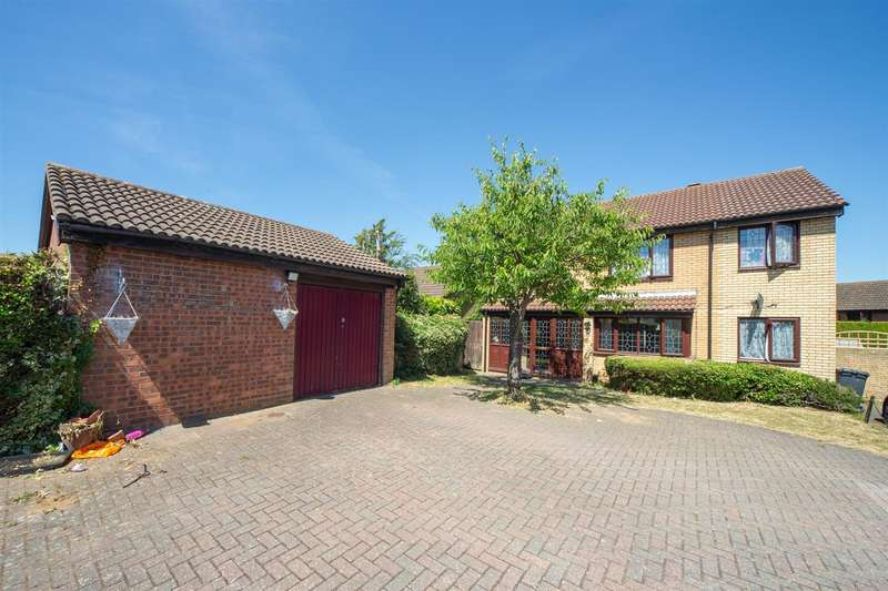 4 Bedrooms Detached House for sale in Kirby Drive, Luton