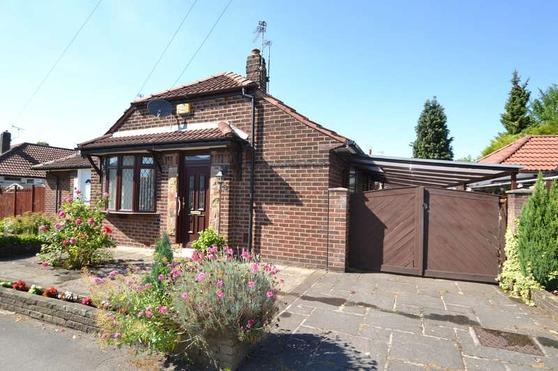 2 Bedrooms Semi Detached Bungalow for sale in Dryden Avenue, Cheadle