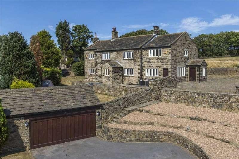 6 Bedrooms Detached House for sale in High Ash Farm, Street Lane, West Morton, BD20