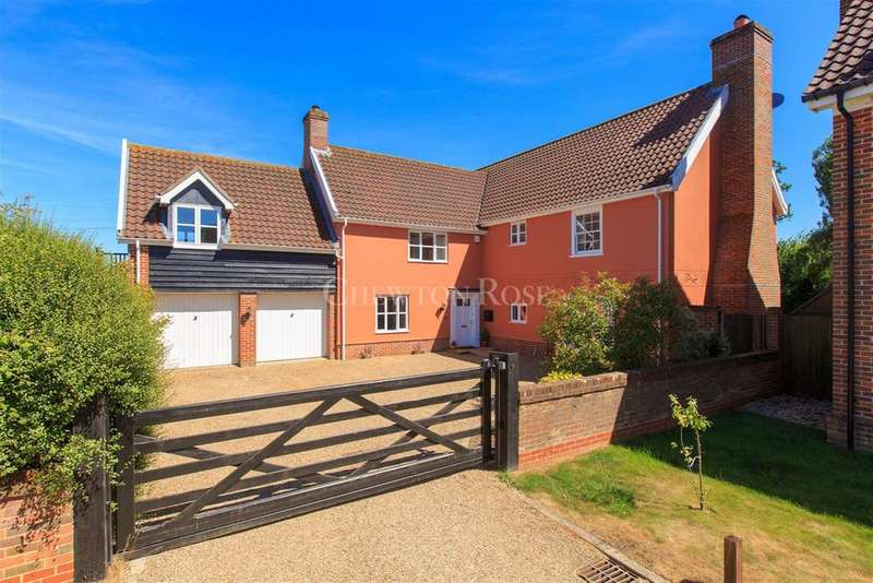 5 Bedrooms Detached House for sale in Mulbarton, Close to Norwich