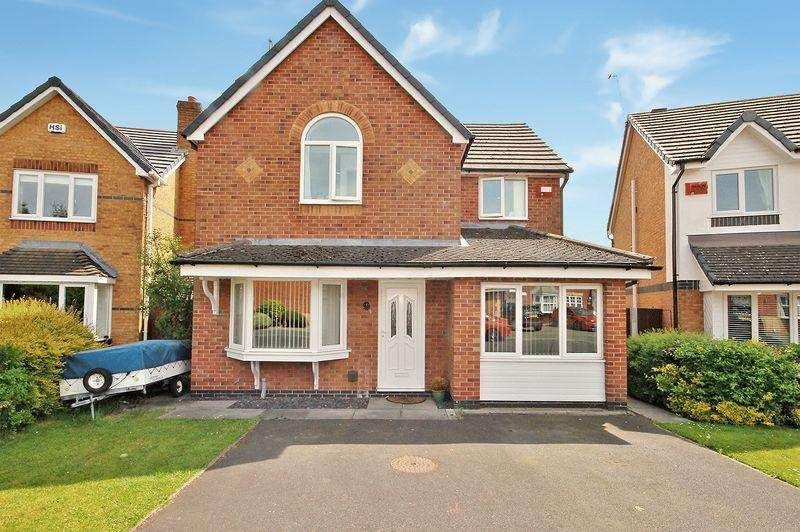 3 Bedrooms Detached House for sale in Foxley Heath, Widnes